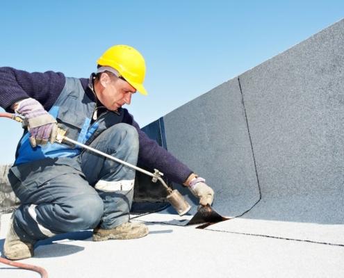 Rénovation et entretien de l'étanchéité sur bâtiments anciens